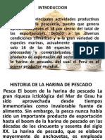 Harina de Pesacdo en Diapositivas
