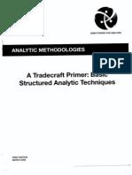 Defense Intelligence Agency Tradecraft Primer for Intelligence Analysts