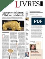 Supplément Le Monde des livres 2013.02.08