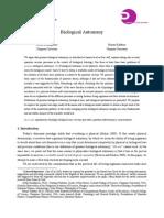 GrandpierreKafatos2012Biological Autonomy