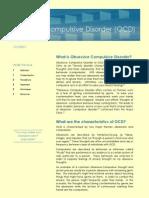 obsessive compulsive disorder handout