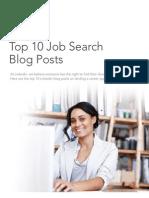LinkedIn Top 10 Job Search Blog Posts March 2013