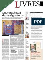 Supplément Le Monde des livres 2013.03.15