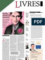 Supplément Le Monde des livres 2013.01.11