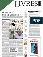 Supplément Le Monde des livres 2013.01.18