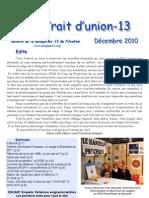 Trait d'Union Décembre 2010