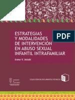 Estrategias y Modalidades de Intervencion en Abuso Sexual Infantil Intrafamiliar Marzo 2012