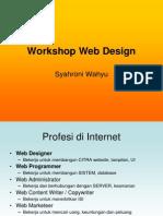 Workshop Web Design