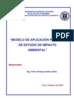 Modelo de aplicación practica de EIA