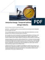 AmeraTex Energy - Tempered Optimism for the Oil and Gas Industry