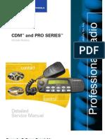 Manual de Servicio Motorola CDM & PRO Series