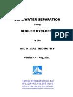 APEX Deoiler Hydrocyclone