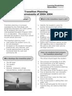 130228 Transition Planning IDEA 2004 Req
