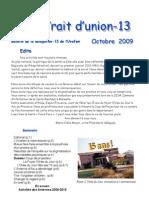 Trait d'Union Octobre 2009
