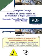 3 Seguridad y Prevencion de Riesgos Electricos en Vias Publicas- Caso Electronorte