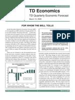 TD Quarterly Economic Forecast
