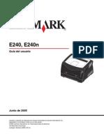 Lexmark E240, E240n
