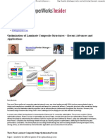 Optimization of Laminate Composite Structures – Recent Advances and Applications « « HyperWorks Insider HyperWorks Insider