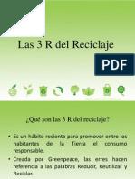 Las 3 R Del Reciclaje