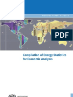 WP 01 Compilation of Energy Statistics for Economic Analysis