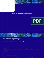 Inxhinieri Software - Leksion 1