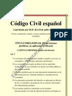 Codigo Civil Espanol