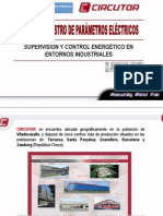 Supervisión y Control Energético en Entornos Industriales _ Medida y Registro de Parámetros Eléctricos _ CIRCUTOR