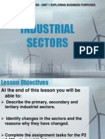 Industrial Sectors1