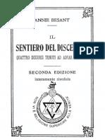 A.besant - Il Sentiero Del Discepolo