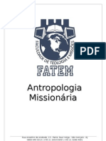 Apostila Antropologia Missionária