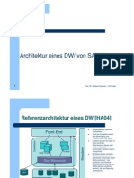 02 Data Warehousing mit SAP BI Architektur eines DW (3/16)