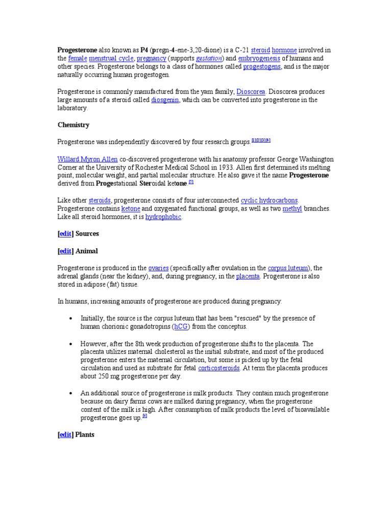 Progesterone | Progesterone | Preterm Birth