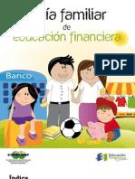 Guía Familiar de Educación Financiera, CONDUSEF México