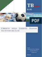 L'impatto dello Juventus Stadium sul futuro del Club