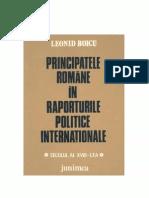 BoicuLeonid Principatele Romane