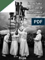 Pregón Semana Santa Bercianos de Aliste (Zamora)