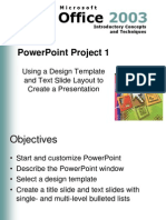 PowerPoint Project 12