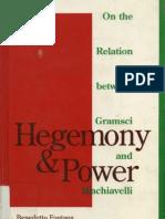 Fontana, Benedetto. Hegemony & Power