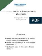 Sanofi-Aventis Et Le Secteur de La Pharmacie