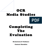 Tackling The Evaluation Questions – March 25th 2013