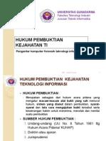 Mater Hukum Pembuktian Forensik