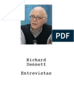 Sennet, Richard - Entrevistas