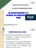 ESTADO DE DERECHO PRESENTACIÓN