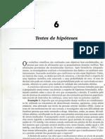 6 - Teste de Hipóteses
