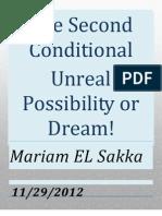 Mariam El Sakka Conditional II