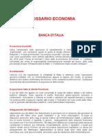 Banca d Italia - Glossario Di Economia