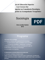 Sociologia Clase Abril 2012