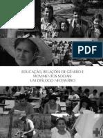 LIVRO_Educação, relações de gênero e movimentos sociais um diálogo necessário_MENEGAT, TEDESCHI e FARIAS (Organizadores)
