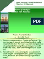 Skenario PengembanganPelabuhan KEK Marunda