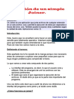 Creación De Un Simple Joiner